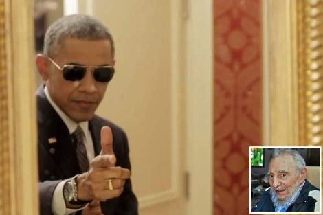 Obama gun castro